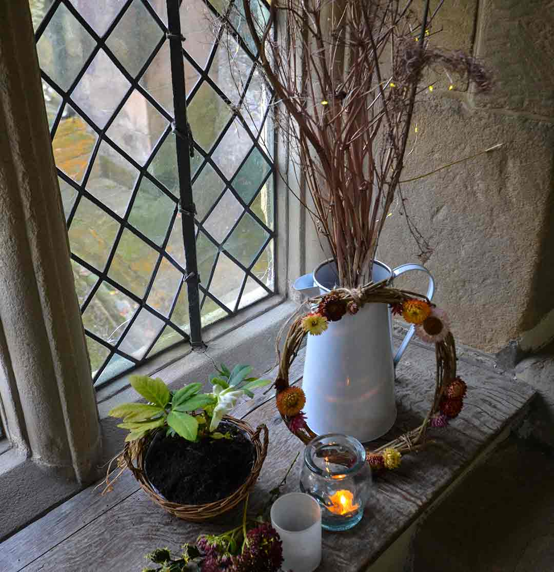 Candle light at Haddon Hall