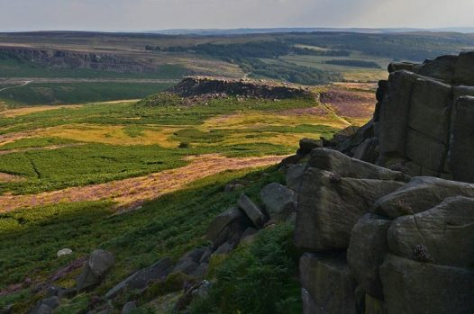 Carl Wark in the Peak District National Park