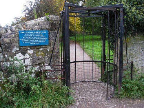 Chatsworth kissing gate