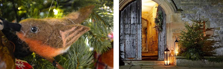 Haddon Hall ready for Christmas