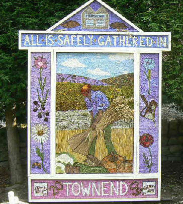 ancient Derbyshire tradition of well-dressings