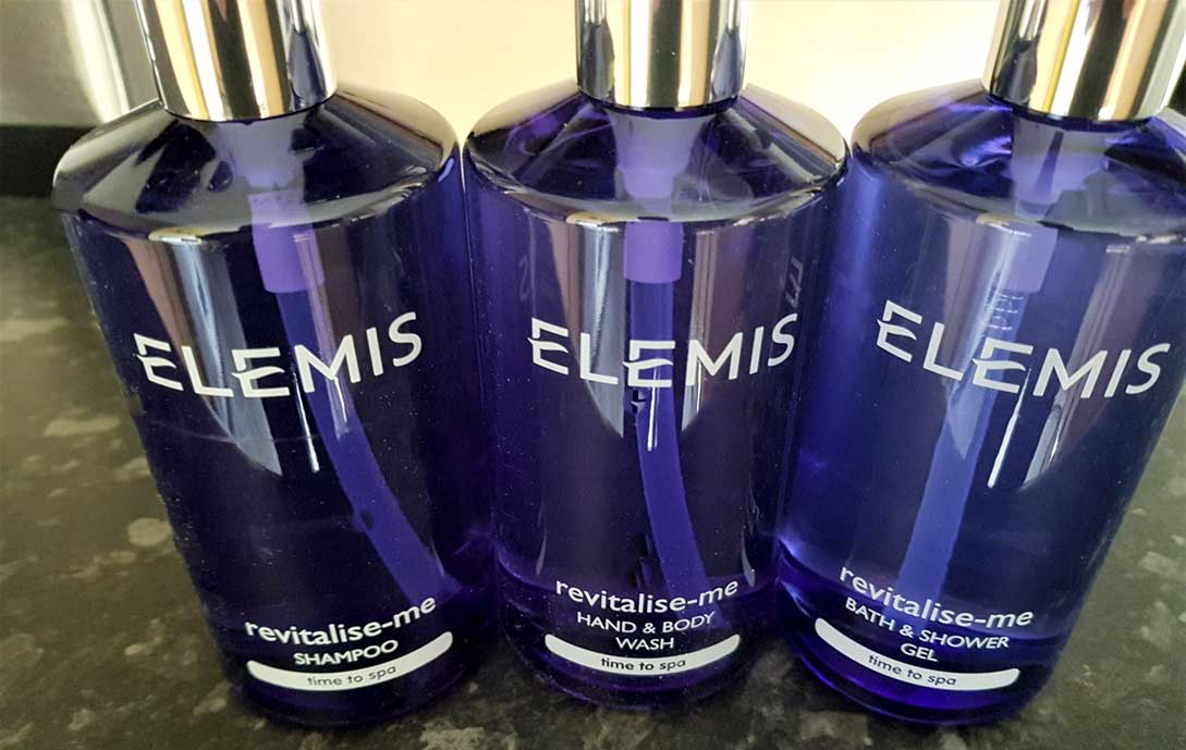 Elemis products in every room