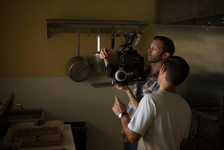 camera man filming Pride and Prejudice