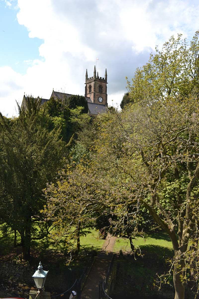 View into Knowleston Gardens