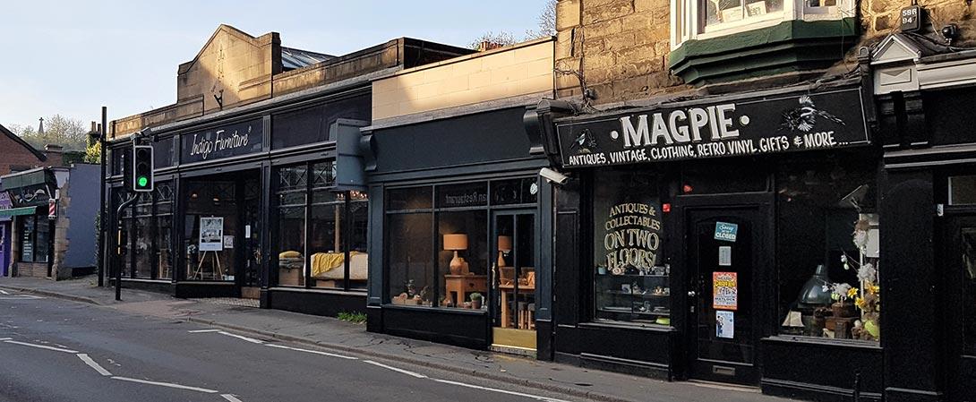 Matlock antique shops