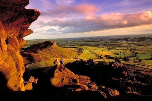 The Roaches in the Peak District National park