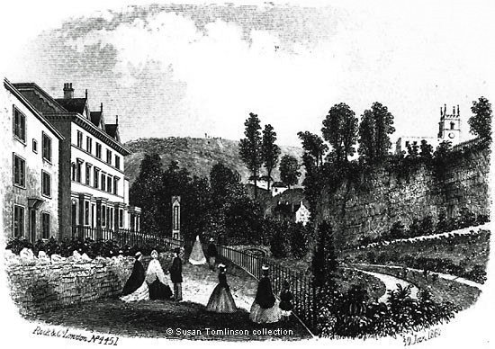 Historical image of Knowleston Place Matlock