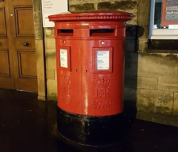 A large capacity Penfold post box