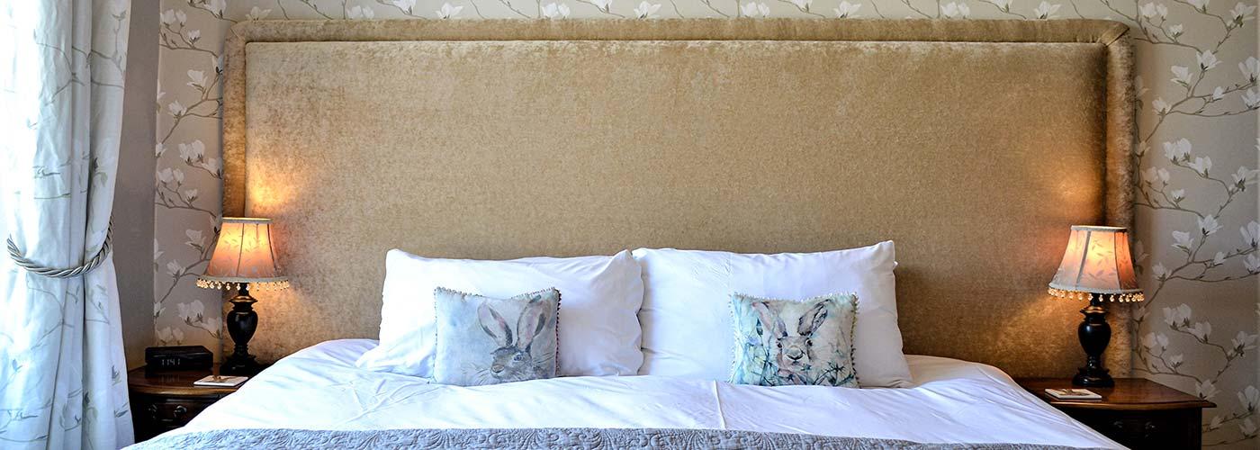 Light airy bedroom
