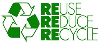We reduce, recycle and reuse