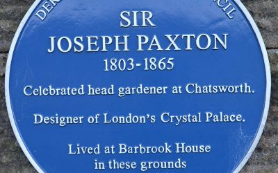 1st Chatsworth Flower show celebrates Joseph Paxton