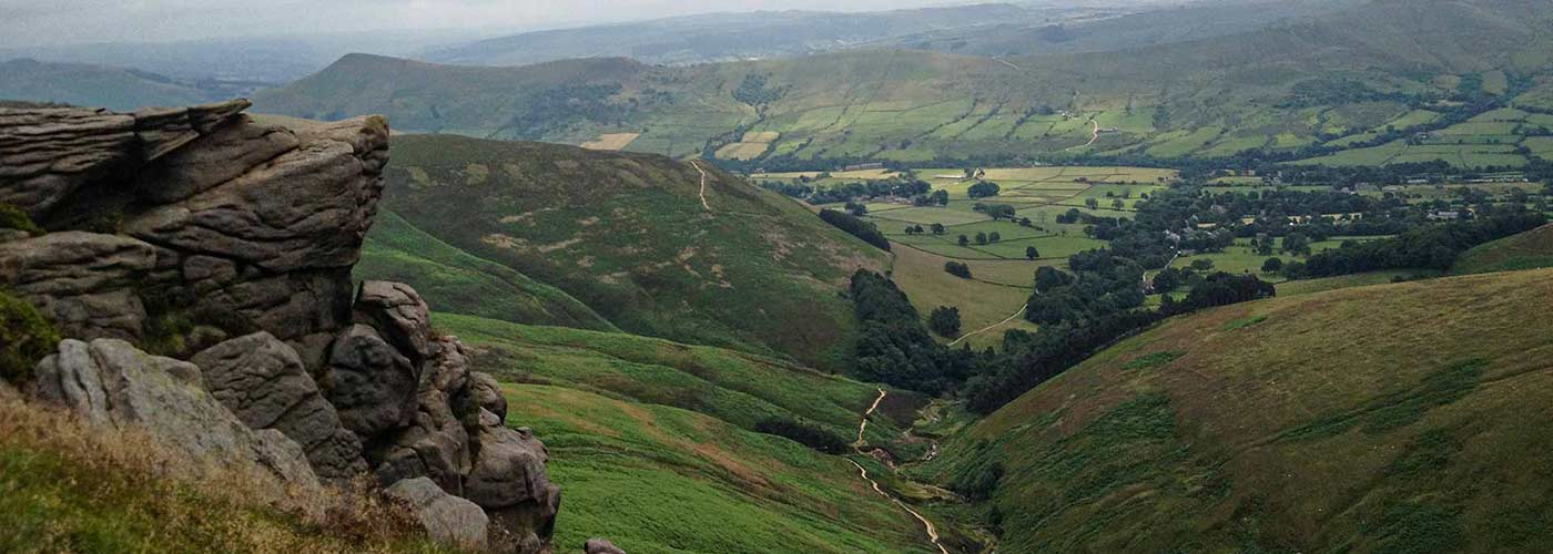 View from the Kinder Scout
