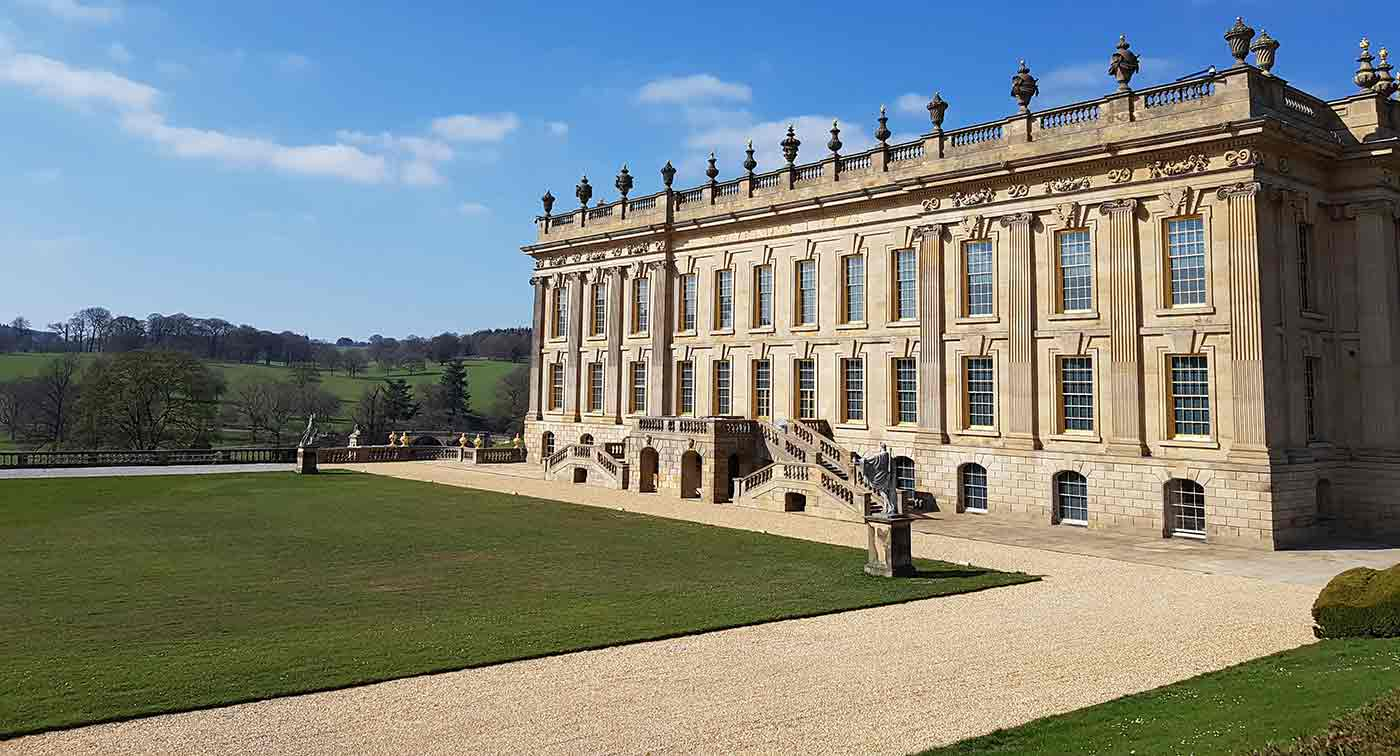 Visit Chatsworth House during Staycation in Derbyshire