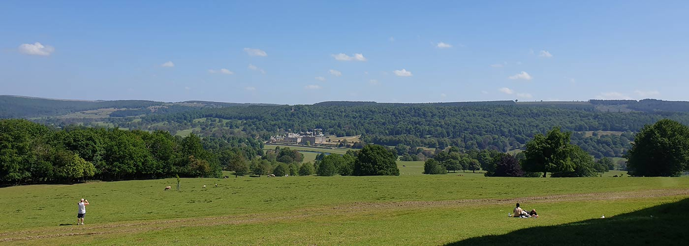 Views over Derbyshire - open for a Staycation!