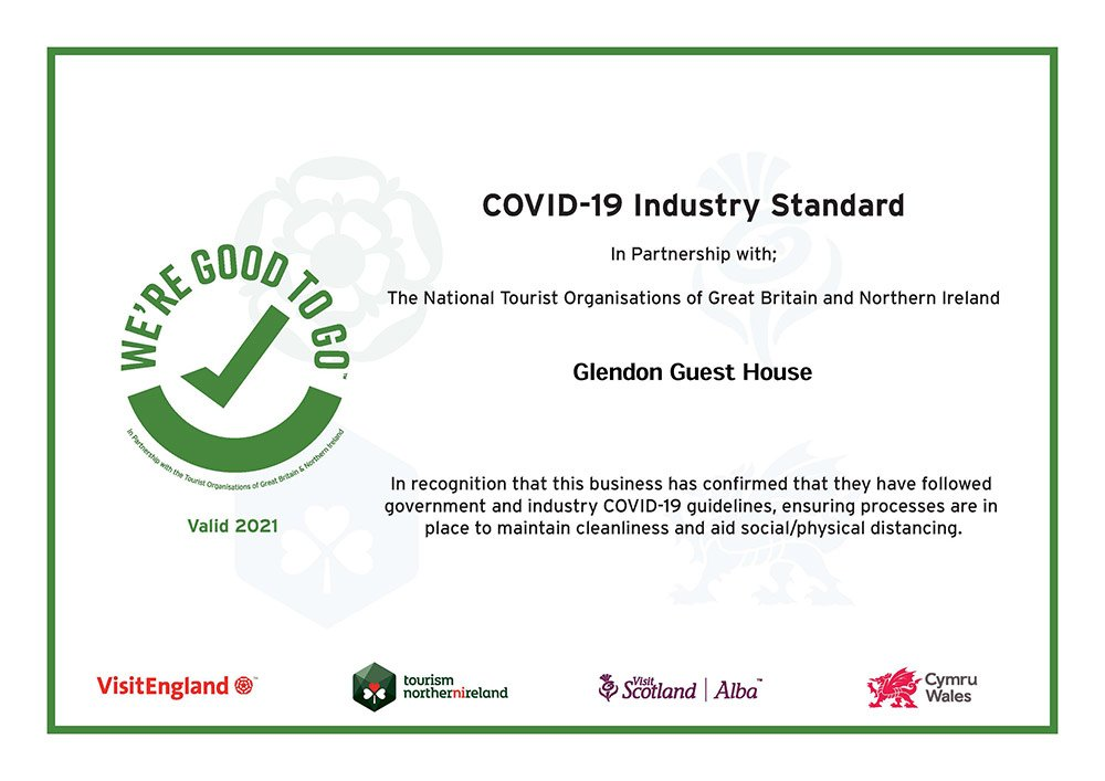 We are good to go certificate 2021