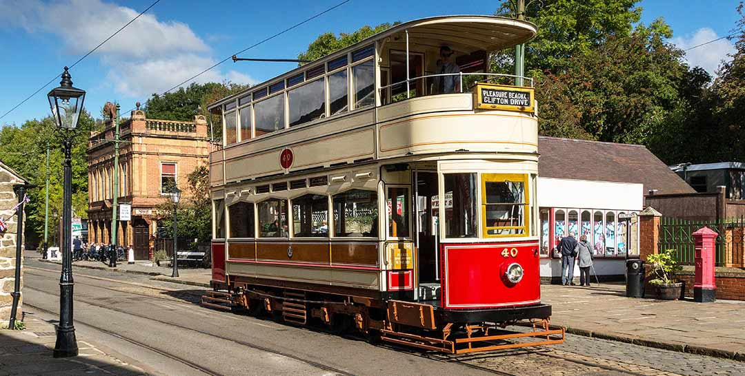 Crich Tramway in Matlock