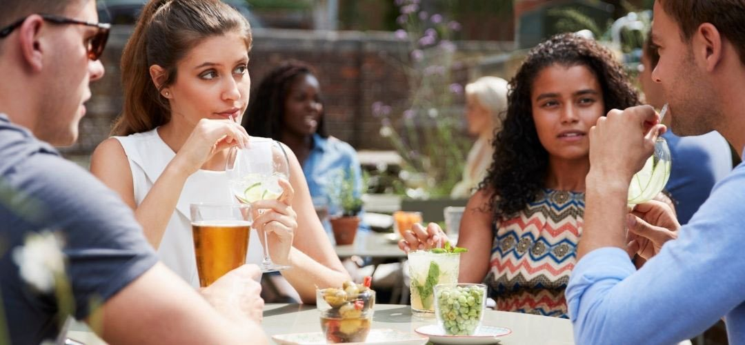 Looking for a Derbyshire Pub with a garden?