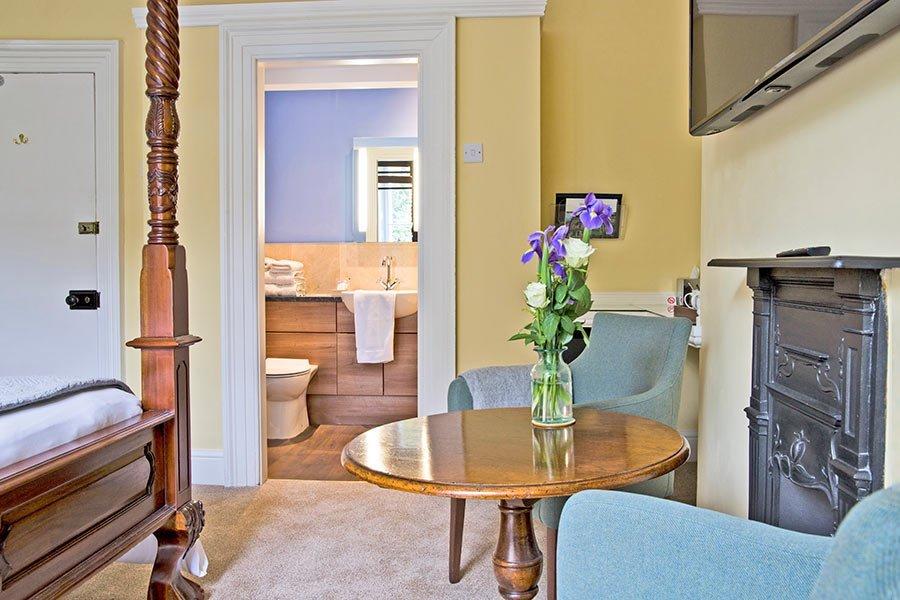 View of bedroom 1 bathroom