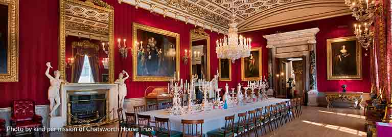 Chatsworth House Great Dining Room